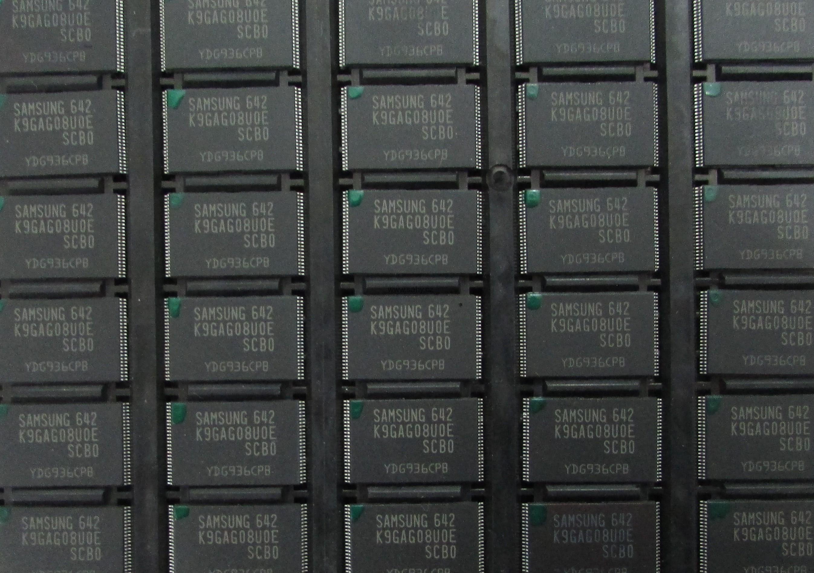 Samsung UExxD55xx UExxD57xx NAND IC1302 K9GAG08U0E