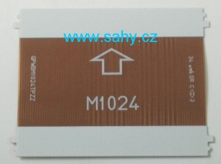80 pin Sharp M1024 QPWBM1024TPZZ